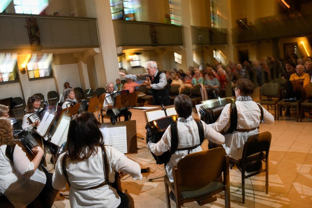 Konzert zum 85 Jubiläum des Akkordeonorchesters Stern
